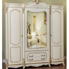 """Шкаф """"Мона Лиза"""" Крем, 4 двери"""