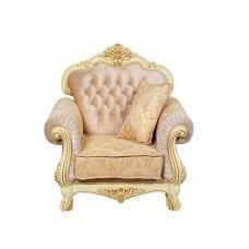 """Кресло """"Луджеро"""" Крем Золото"""