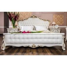 """Кровать """"Анна Мария"""" Белый Матовый"""