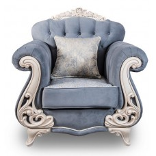 "Кресло ""Афина"" Крем Серый"