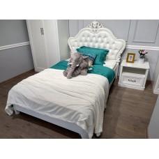 """Кровать """"Мишель"""" Белый Матовый"""
